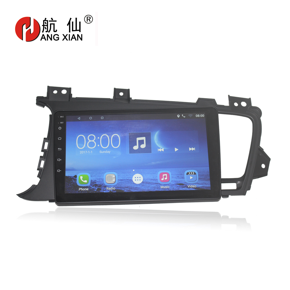 Bway 9 2 din Car radio for KIA K5 2011 2012 2013 2014 2015 Quadcore Android 6.0.1 car dvd player GPS with 1 G RAM,16G iNand