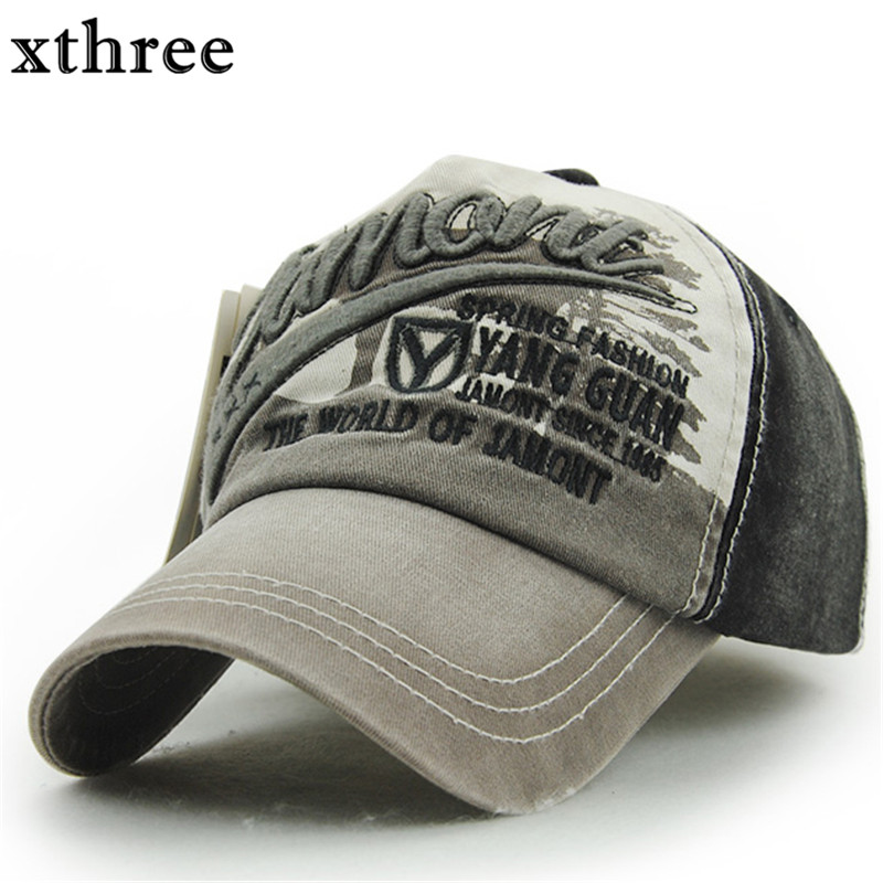 Xthree Wholesale fashion Letter embroidery baseball cap Cotton Casual swag cap hip hop snapback Hat for men Baseball Cap women boapt unisex letter embroidery cotton women hat snapback caps men casual hip hop hats summer retro brand baseball cap female