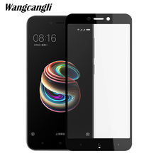 3D hard edge Protective glass on for Xiaomi Redmi 4A Tempered Glass 9H Full Cover Screen Protector For 4x note4x