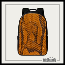 Snakeskin Laptop Computer Backpack (7)