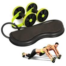 FDBRO New Multi-functional Fitness Equipment Exercise Abdominal Trainer Ab Roller Wheel Arm Waist Leg