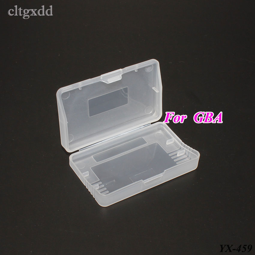 Cltgxdd Plastic Transparent Game Cards Storage Box Cartridge Cases For Gameboy Advance For GBA Protector Holder Cover Shell