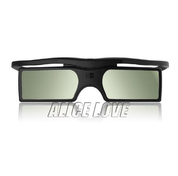2pcs Bluetooth 3D Active Shutter Glasses Case For Sony Samsung Panasonic EPSON 3D TV Replace TDG