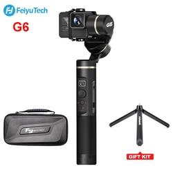 FeiyuTech Feiyu G6 Handheld Gimbal Waterproof Wifi + Blue Tooth OLED Screen for Action Camera Hero 6 5 4 RX0 PK Zhiyun Smooth 4