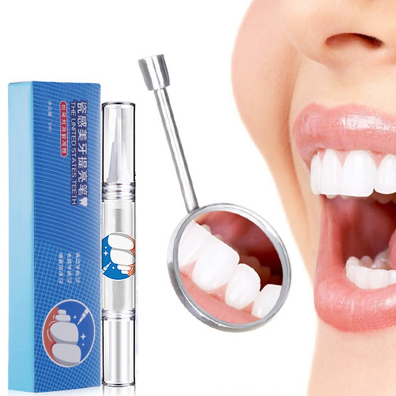 1PCS Hot Creative Effective Teeth Whitening Pen Tooth Gel Whitener Bleach Stain Eraser Sexy Celebrity Smile Teeth Care