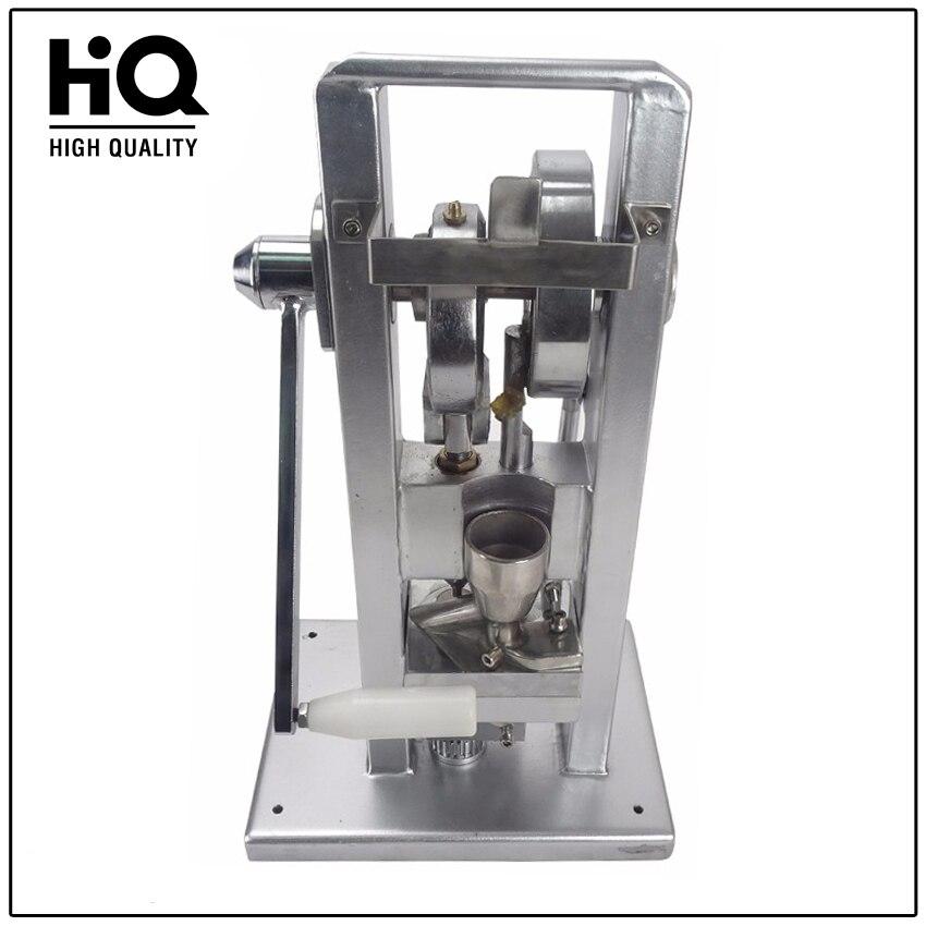 Mini TDP-0 planšetinis presas, rankinis - naudojant 30–50 grūdų / min. Miltelių presavimo mašiną / piliulę gaminant / (lengviausio tipo) 20 kg
