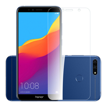 2PCS 2.5D Tempered Glass for Huawei Honor 7s 9H High Quality Explosion-proof Protective Screen Protector film Y5 Prime 2018
