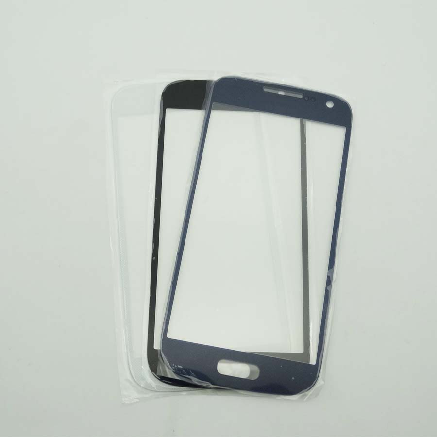 For Samsung Galaxy S4 MINI i9190 i9192 i9195 GT-I9190 LCD Front Screen Glass Lens Outer Glass image