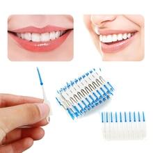 120 шт. чистка зубов Уход за полостью рта зубная нить гигиена полости рта зубная нить мягкая межзубная двойная зубочистка