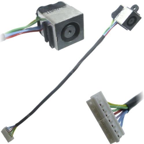 WZSM Ny Laptop DC Power Jack-kabel för Dell Inspiron 17R N7110 Vostro 3750