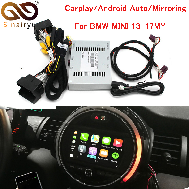 Sinairyu Aftermarket MINI Cooper NBT OEM Apple CarPlay Box