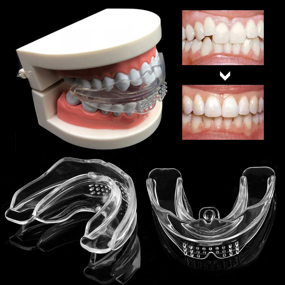 Dental Silicone Orthodontic Braces Appliance Braces Alignment Trainer Teeth Retainer Bruxism Mouth Guard Teeth Straightener
