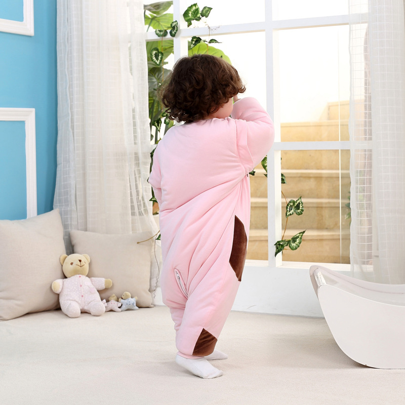 Lovely Children Baby Sleeping Bag Winter Thicken Cotton Warm Baby Newborn Sleep Bag Swaddle Wrap Infant Anti Kick Sleep Sack C01