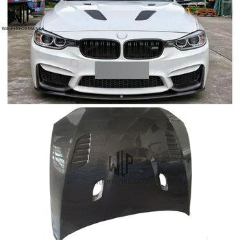 Série 3 F30 capota De Fibra De Carbono Tampa Do Motor Bonnet sport style Car Body Kit Para BMW série 3 F30 2013-2018