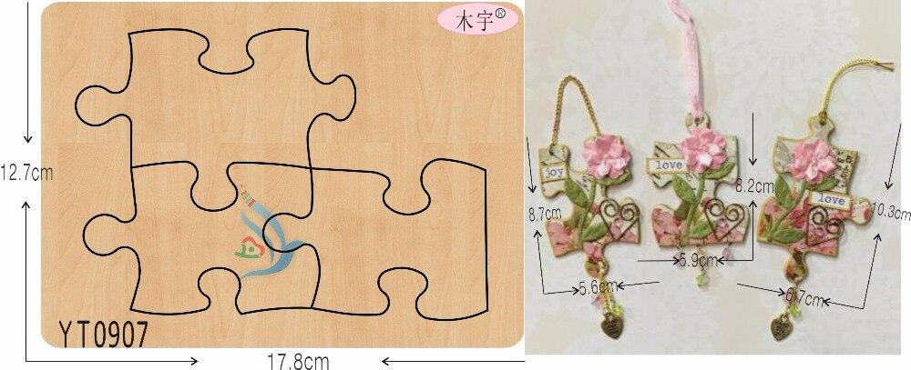 Decorate YT0907 DIY neue holz form schneiden stirbt für scrapbooking Dicke/15,8mm/MEINE-in Stanzmesser aus Heim und Garten bei AliExpress - 11.11_Doppel-11Tag der Singles 1
