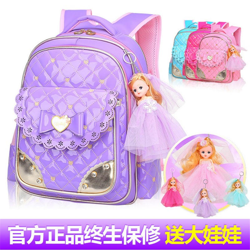 Children s 8 year old girl s waterproof backpack glitter back pack fashion schoolbags  PU skin butterfly backpack bag student-in Backpacks from Luggage ... 1940d76caeb20
