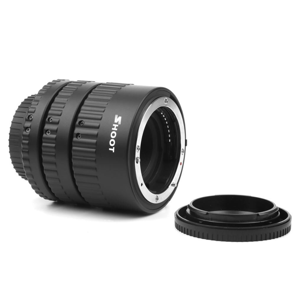 TIRER Autofocus D'extension Macro Ensemble de Tubes pour Nikon D3200 D3300 D5200 D7100 D5300 D7200 D7000 D3100 D90 D5100 D5500 REFLEX Numérique