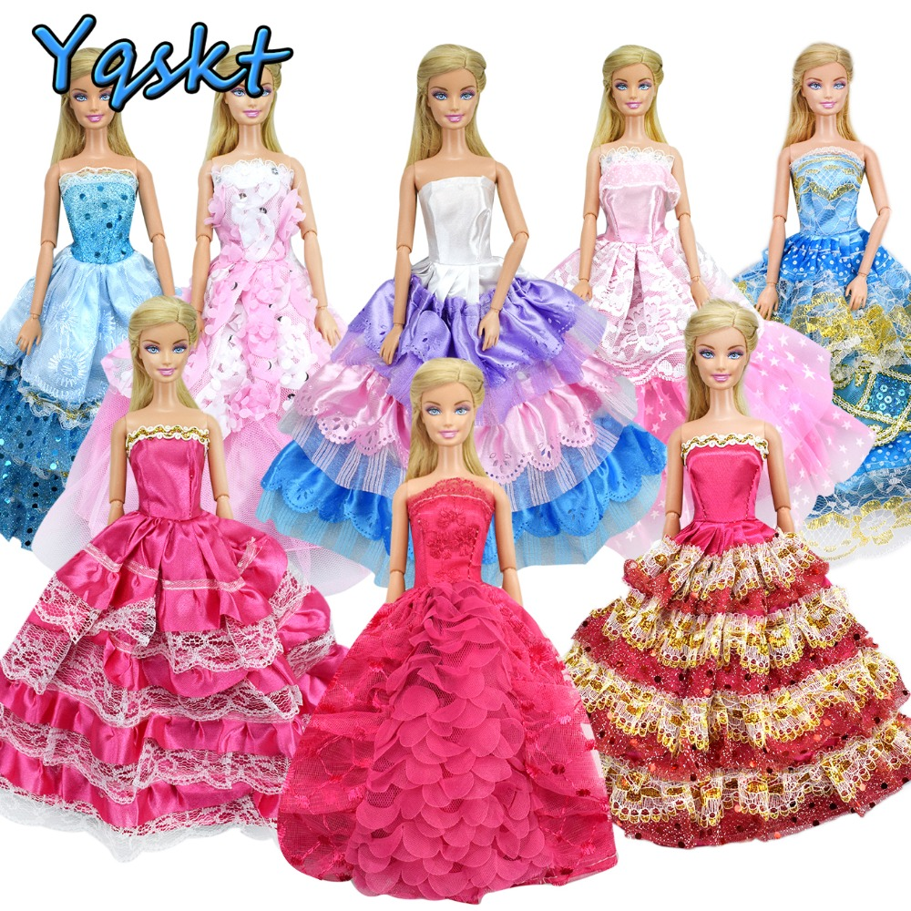 New Arrived Lovely Barbie Doll Princess Toy Box Packing Gift Color Randomly