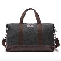 Canvas Travel Shoulder Bag Large Capacity Men Handbag Luggage Duffle Tote Weekend Women Top handle Crossbody Bags