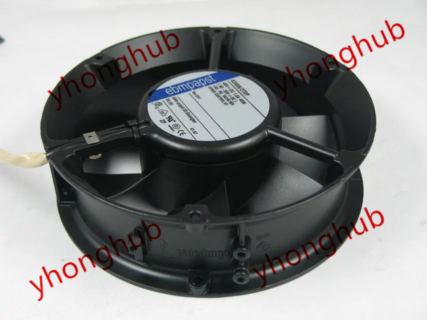 ebm papst 6248N/2TDP DC 48V 48W 4-wire 172x172x51mm Server Round Fan ebm papst w2g110 ap27 09 dc 48v 6w 3 wire 3 pin connector 120x120x38mm server square fan