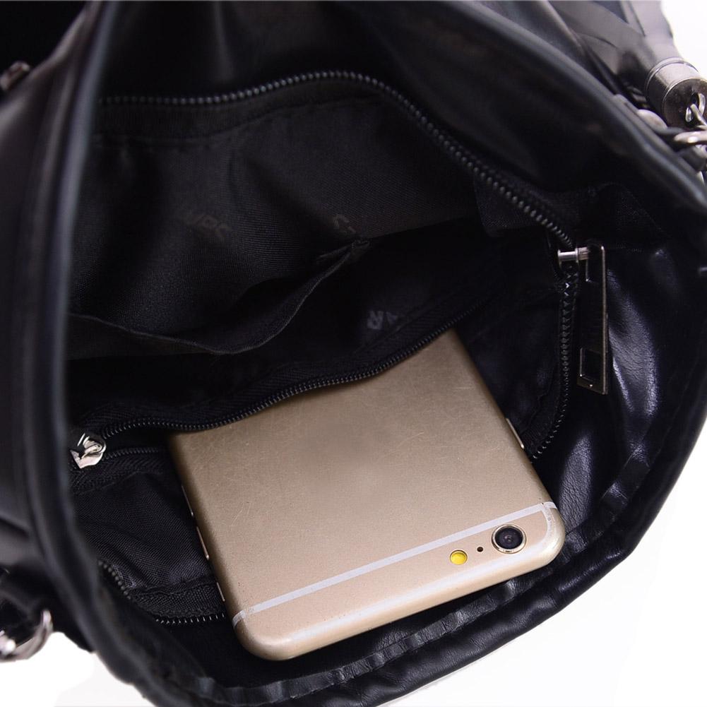 Skull Design Women Messenger Bags Handbags Shoulder Bags Satchel Clutch Girl Black Skull Crossbody Bag Bolsas Borse Feminina 7