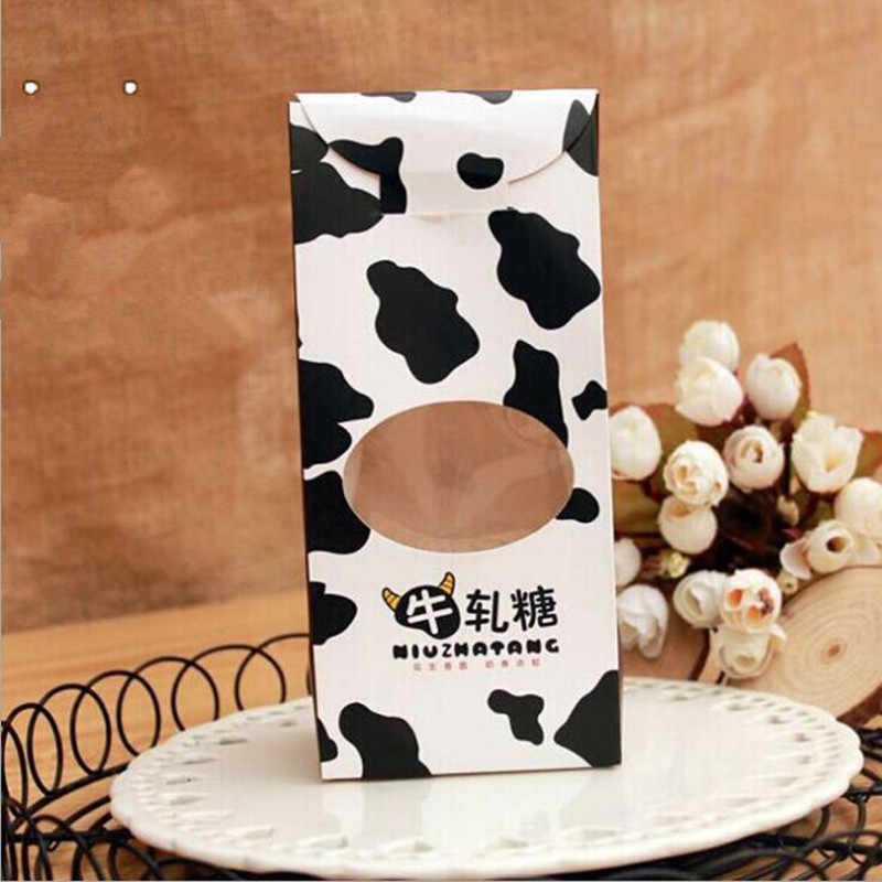 10PCS/lot Cow Gift Box Candy Baby Shower Box Gift Box Children Birthday Party Decorations Kids Party Supplies