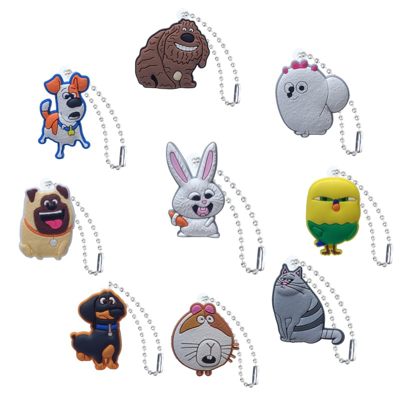 Straps Chain Accessories Charm-Ball Pets-Bag-Parts Dog-Keychain-Bag 1pcs-Secret-Life