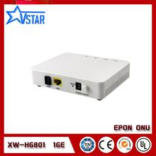 EPON ONU,XW-HG801H single GE ethernet port Epon terminal FTTH ONU,compatible with HUA WEI ZTE OLT rl801ew epon onu for fulfilling ftth and triple play service demand of fixed network operators or cable operators