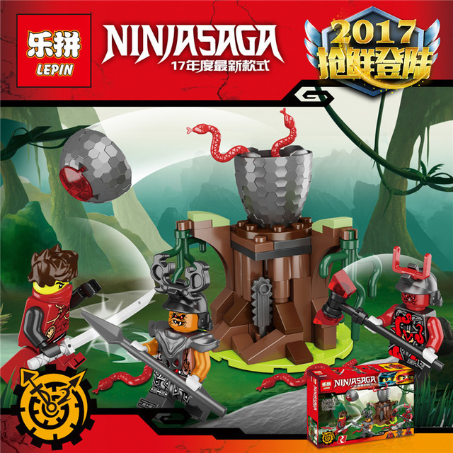 Lepin 06047 The Vermillion Attack assembled Building Blocks Bricks figures Toys compatible Ninjagoed 70621