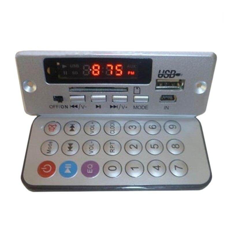 DC 5 В Мощность Усилители домашние MP3 Плата декодера Plug Провода Hands-Free <font><b>Bluetooth</b></font> декодирования доска с romete Управление