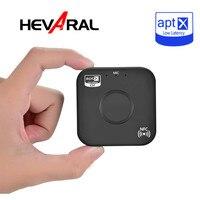 Hevaral Bluetooth приемник APTX мм 3,5 мм Jack Bluetooth 4,2 адаптер NFC HIFI стерео музыка громкой связи автомобиля беспроводной рецепторов наушников