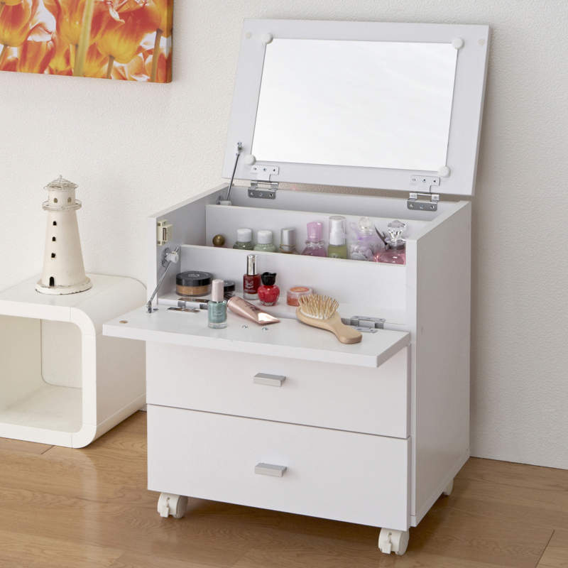 Yi Korean Garden Home Can Make A Removable Mini Vanity Cabinet Flip Dressing  Tables Simple Wood Mirror In Children Tables From Furniture On  Aliexpress.com ...