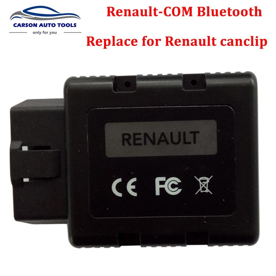 Цена за Renault-COM Bluetooth Диагностическое и Инструмент Программирования для Renault Замена Renault Can Clip