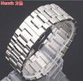 Reemplazo 28mm 30mm correa de reloj pulseras de Reloj de Pulsera Correa de Acero Inoxidable para Horas de vínculo sólido pulido