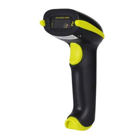 handheld laser scanner de codigo de barras sem fio bluethooth 1d cabo usb bar code