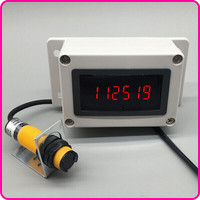 Infrared Sensing Counter Conveyor Machine Count Industrial Equipment LED Electronic Digital Display