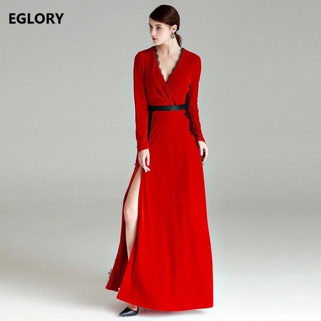 e06fdbb65a9fa0 Fabulous Nieuwe Collectie 2018 Mode Kleding Vrouwen Lange Jurk Sexy V hals  SY53