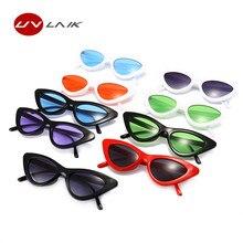 UVLAIK Fashion Cat Eye Sunglasses Women Brand Designer Vintage Retro Sun glasses Female Fashion Cateyes Sunglass UV400 Shades