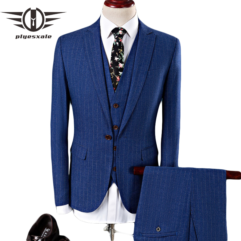 Loldeal Jacket Vest Pants 2018 High quality Men Suits Fashion Men s Slim Fit business wedding