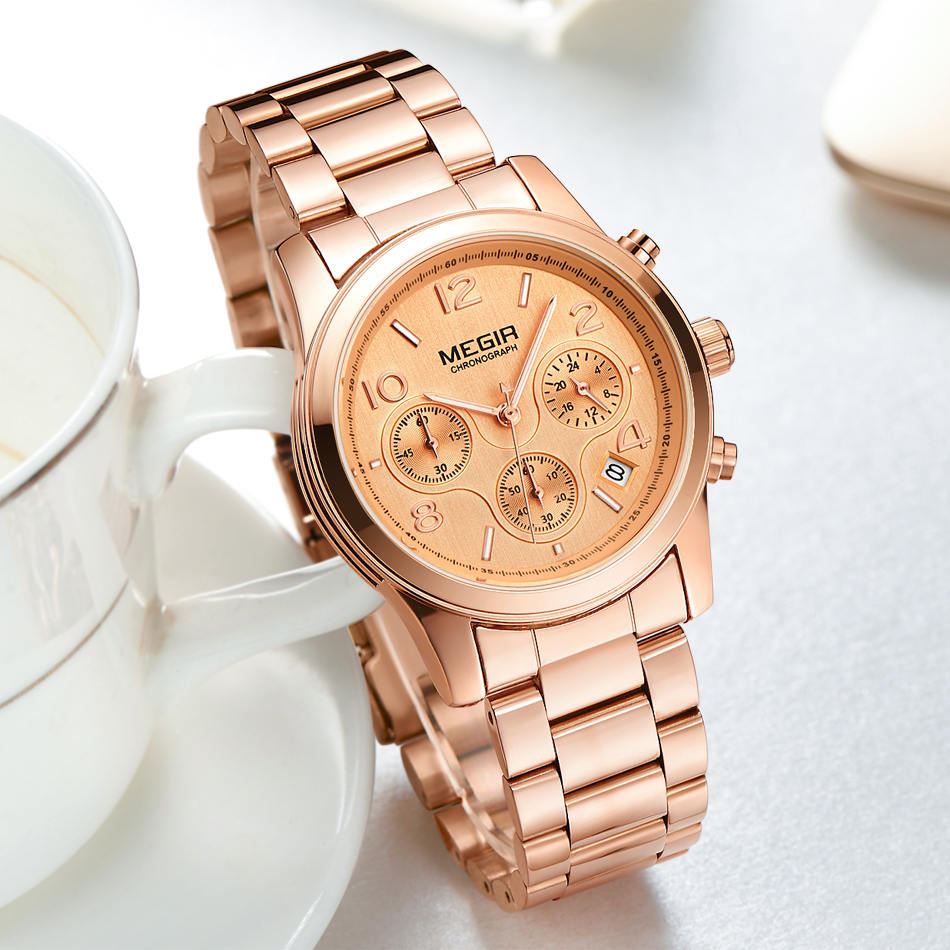 Tops Πολυτελή Μάρκα MEGIR Γυναίκες Casual - Ανδρικά ρολόγια - Φωτογραφία 3