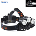 8000Lm CREE XML T6+2R5 LED+red LED With  laser Headlight Headlamp Head Lamp Light 4-mode torch  for fishing Lights