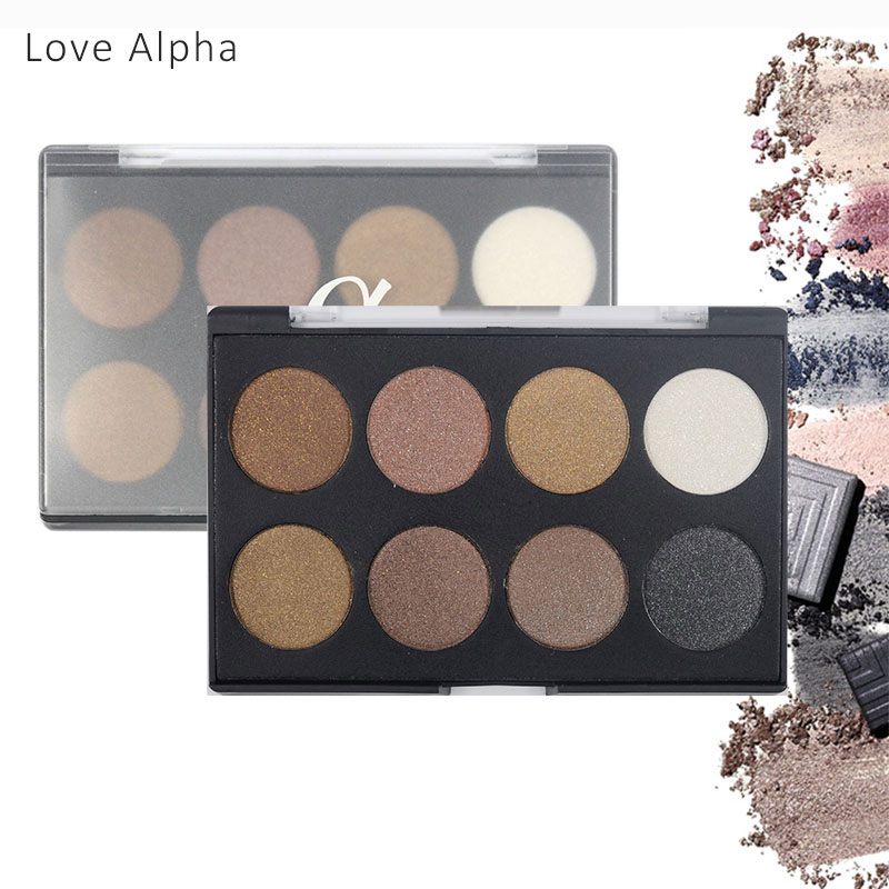 SKURA LANG 12 Colors EyeShadow Flash Powder Super EyeShadow Shining Bright Glitter Powder Eye Shadow Pink Diamond Brand Makeup