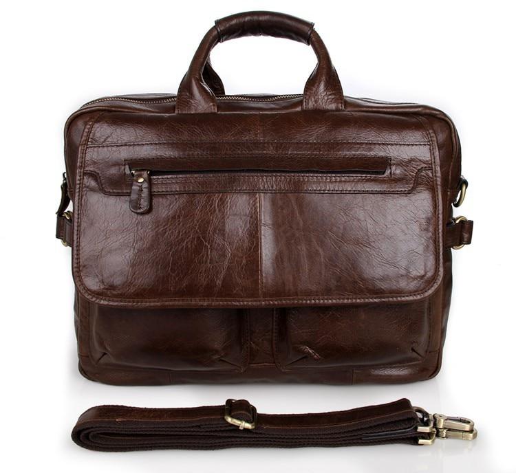 7085C JMD Genuine Leather Handbags For Men Briefcase Laptop Bags7085C JMD Genuine Leather Handbags For Men Briefcase Laptop Bags