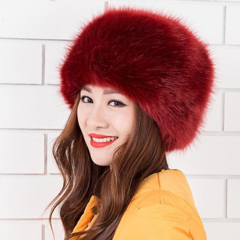Detail Feedback Questions about Russian Type Women s Fashion Real Fox Fur  Hats Lady Winter Warm Charm Beanies Caps Female Headgear on Aliexpress.com  ... 7784dca6e36