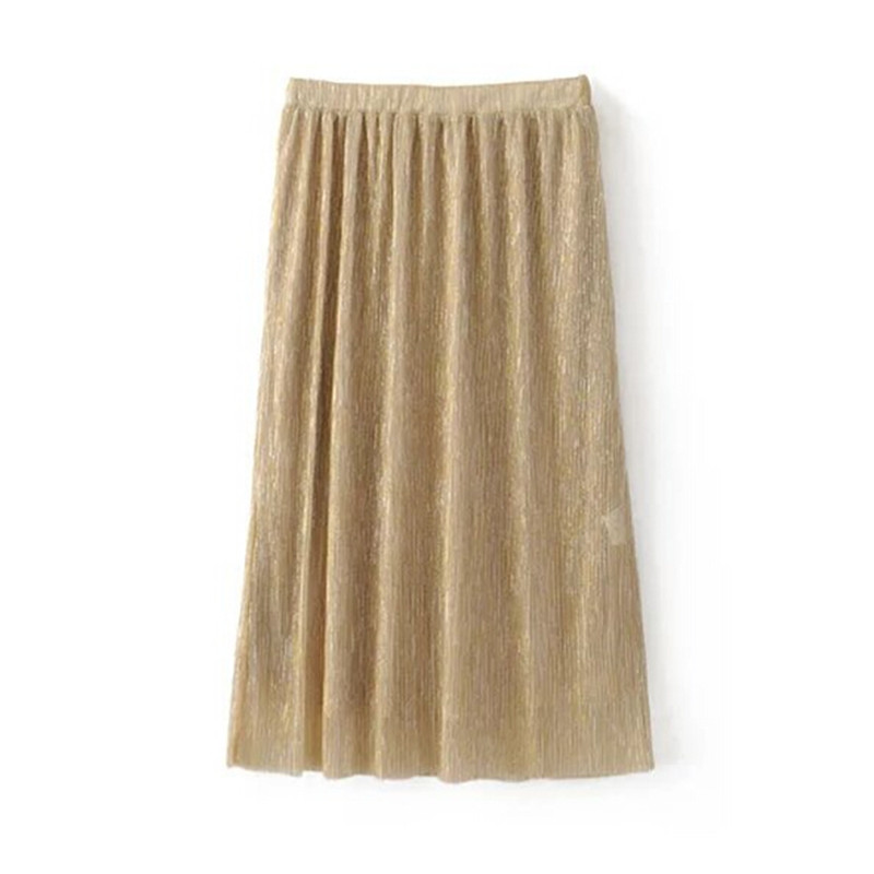Compare Prices on High Waisted Pleated Skirt Long- Online Shopping ...