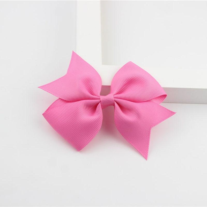 Новые модные маленькие заколки для волос для маленьких девочек, милые заколки для волос карамельного цвета с цветком, детские заколки, аксессуары для волос - Цвет: a14 Light Rose