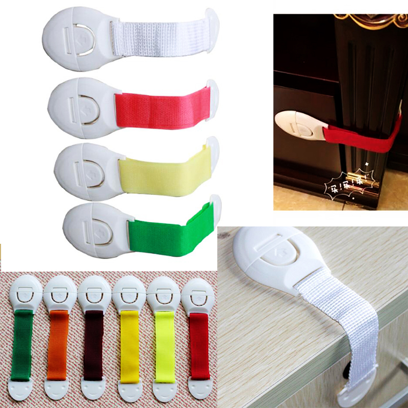 1 Pcs Baby Safety Locks Baby Safety Care Product Plastic Drawer Door Cabinet Cupboard Safety Locks Protection For Children
