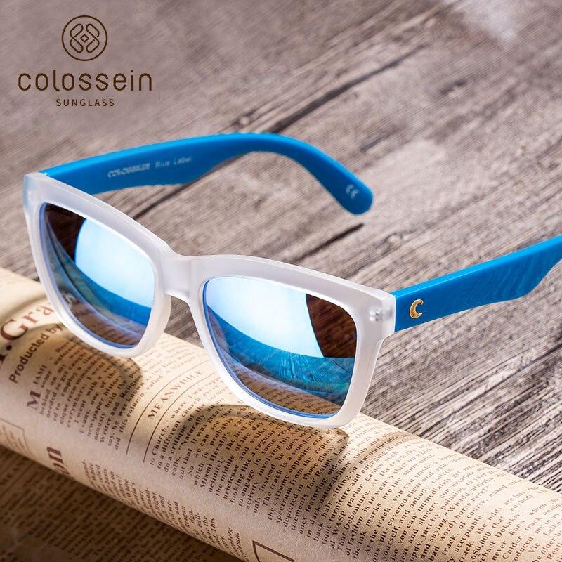 COLOSSEIN Sommer Sonnenbrille Frauen Quadratischen Rahmen ...