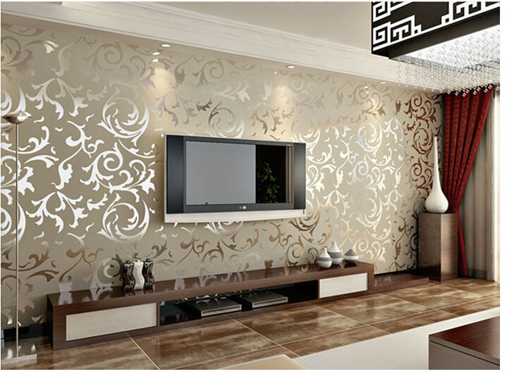 3d photo murals wallpaper roll modern living room tv brick - Tappezzeria camera da letto ...