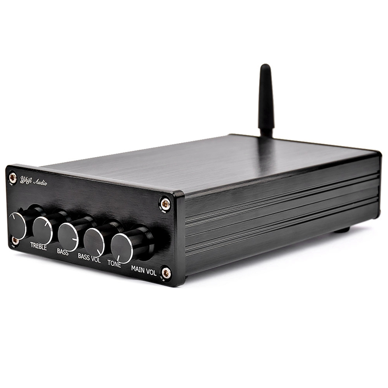 <font><b>Bluetooth</b></font> 4.2 Subwoofer Audio Amplifier 100W Hifi Stereo <font><b>Tpa3116</b></font> Digital <font><b>2.1</b></font> Channel Desktop Power Amplifier Amp 50Wx2 image